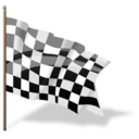 1304334390 Checkered Flag