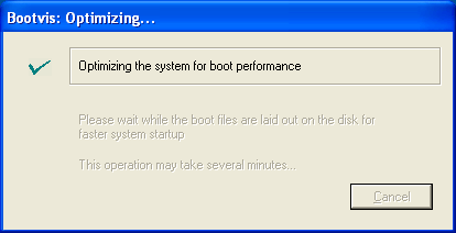 Bootvis Optimizing