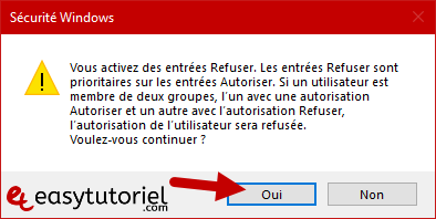Proteger Dossier Fichier Windows 10 4