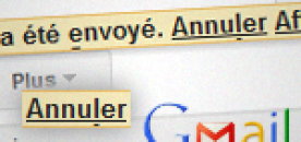 annuler message gmail