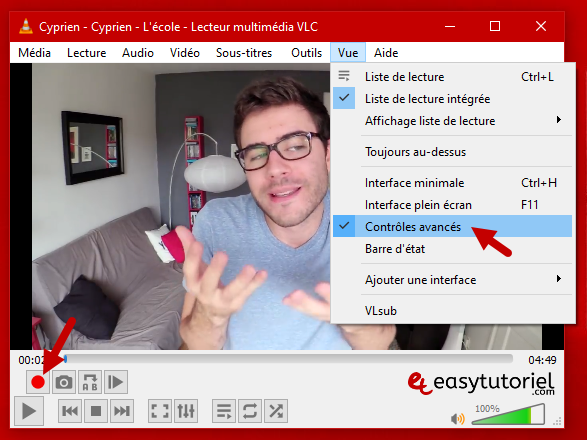 Tutoriel Vlc Media Player Fonctionnalites Trucs Et Astuces Windows 10 13