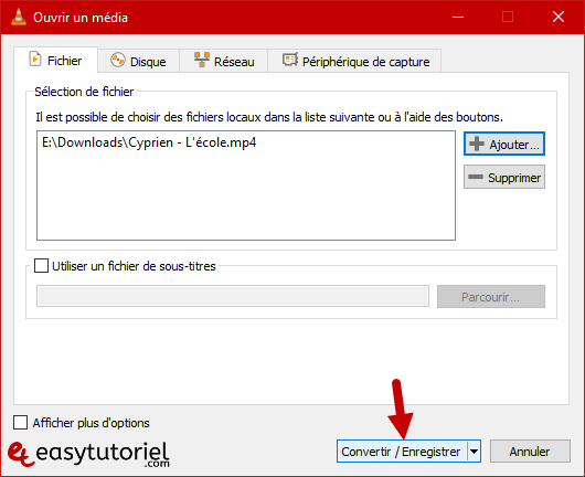 Tutoriel Vlc Media Player Fonctionnalites Trucs Et Astuces Windows 10 6 Convertir Enregistrer
