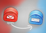 spam gmail rediriger