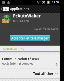 téléchargements de pc à distance de https android