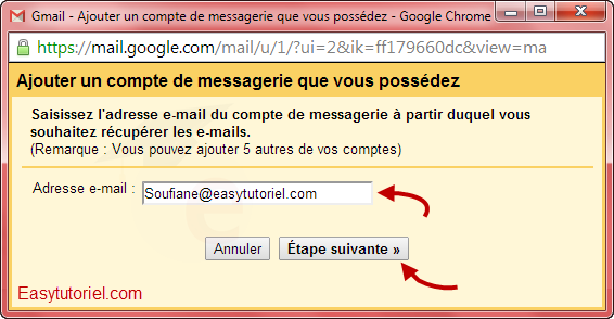 mail gmail pop3 3