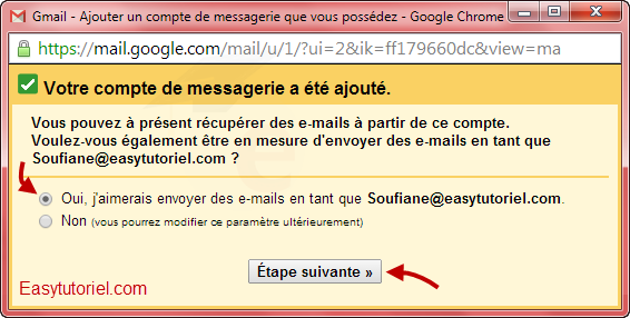 mail gmail pop3 5