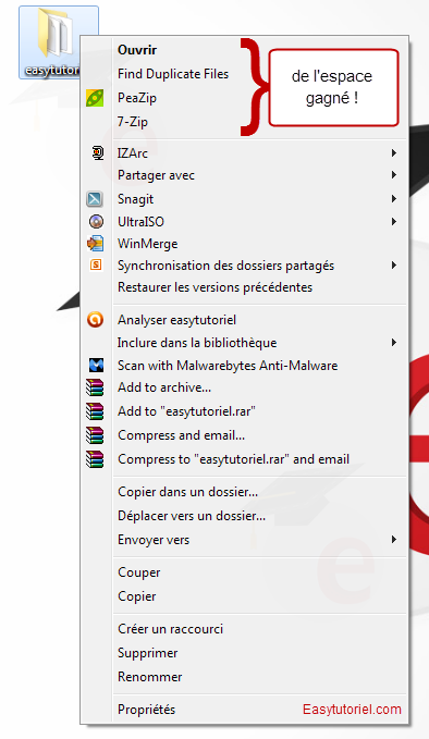 nettoyer menu contextuel windows 4