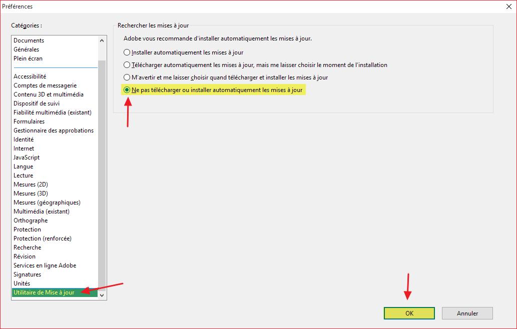 Mise à jour Adobe Acrobat Reader DC (Adobe Reader) à ...