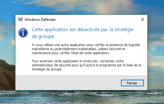 desactiver windows defender facile 4