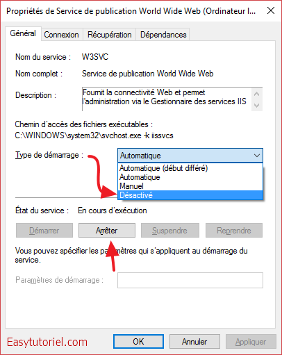 06 service de publication world wide web w3svc
