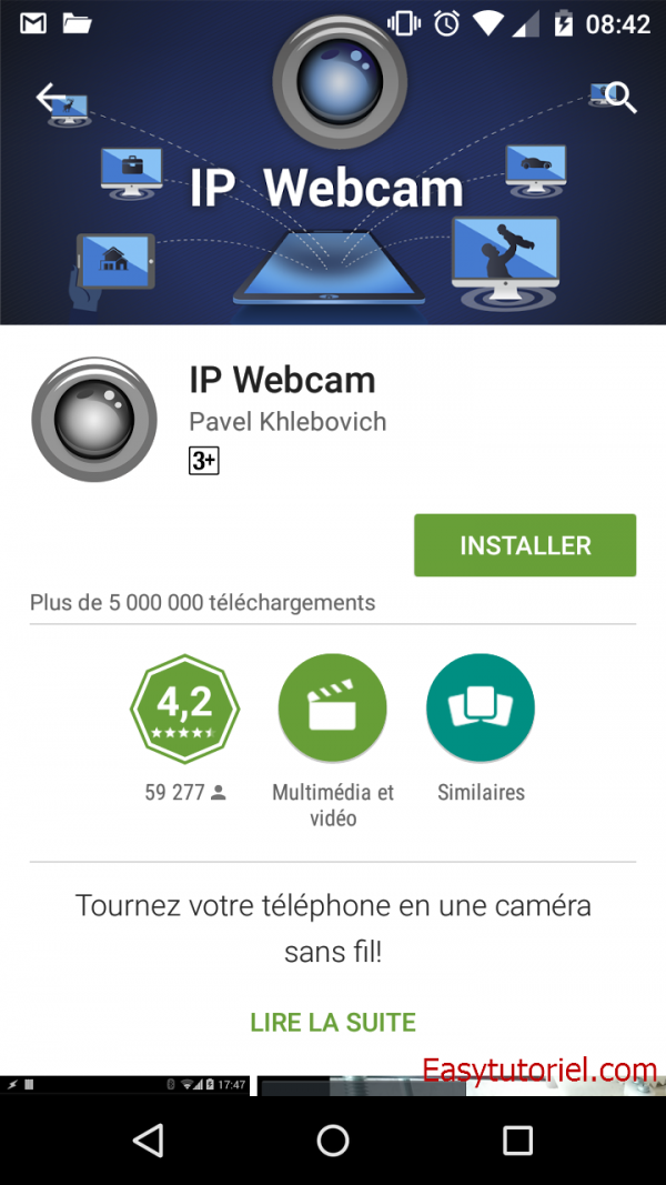 1 ip webcam android app