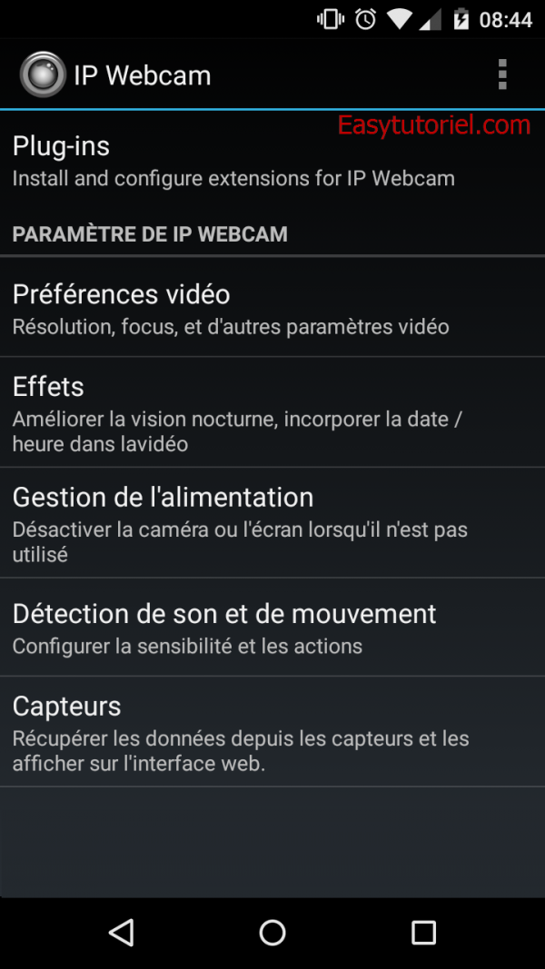 4 ip webcam android app