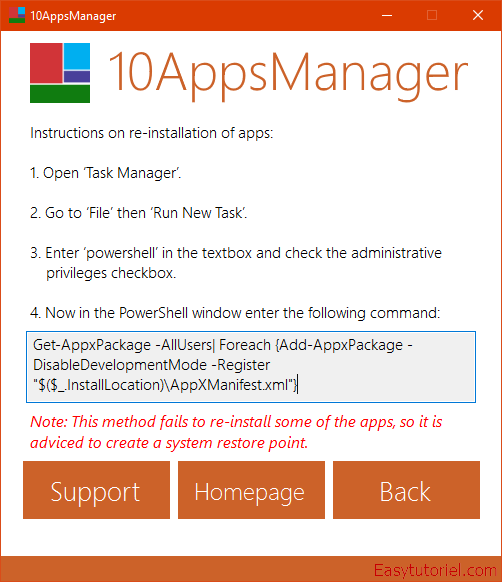 10appsmanager windows 10 applications 5