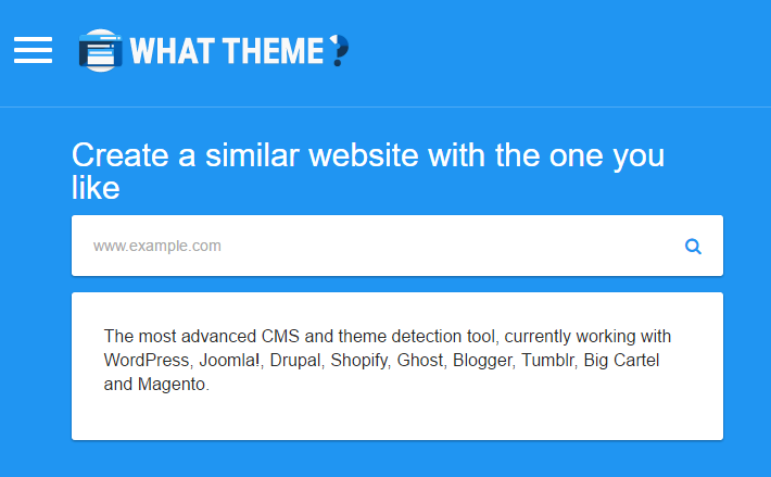 What theme WordPress