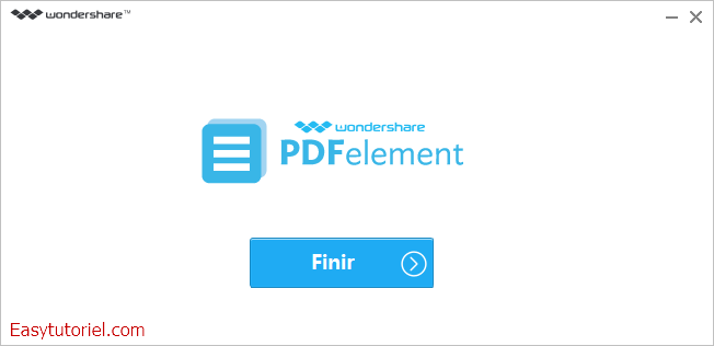 Wondershare PDFelement easytutoriel fr 2