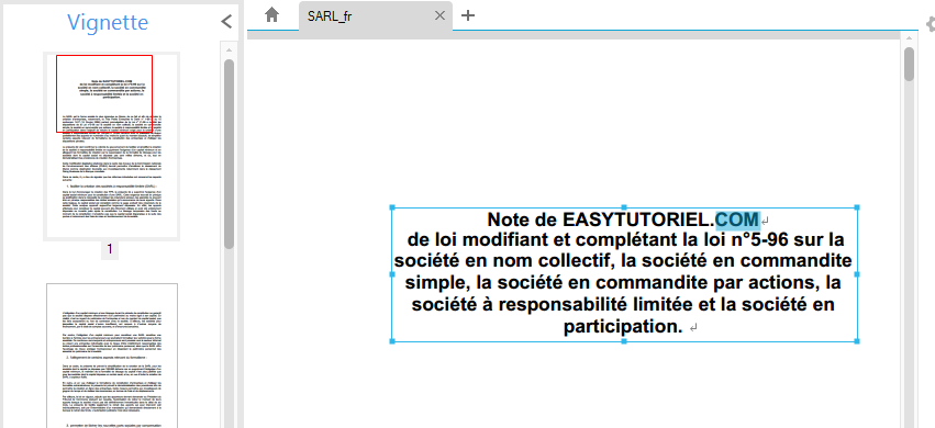 Wondershare PDFelement easytutoriel fr 6