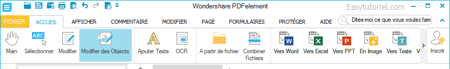 Wondershare PDFelement easytutoriel fr 7