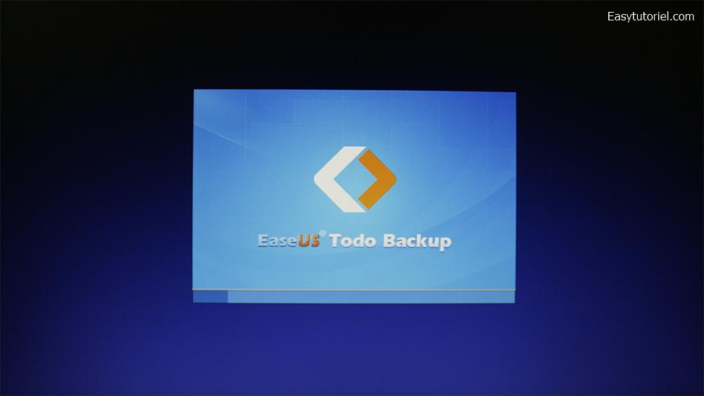 easeus todo backup boot