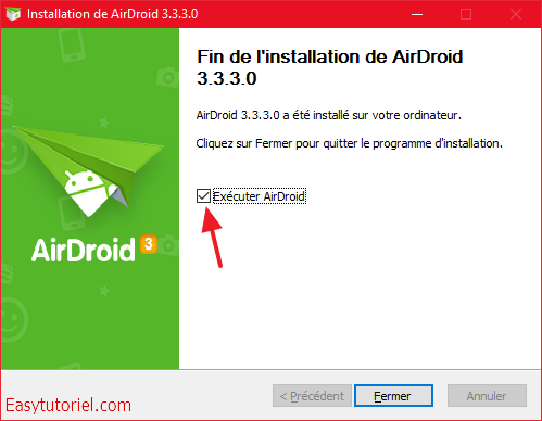 executer airdroid installation