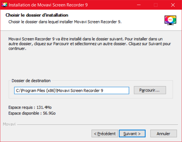 Movavi Screen Recorder Installation 3