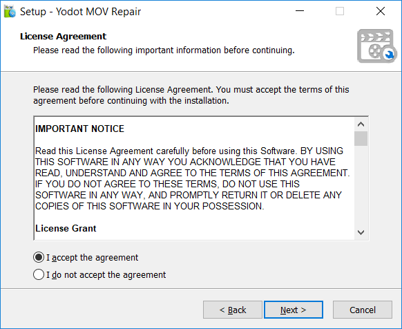 Yodot Mov Repair 2