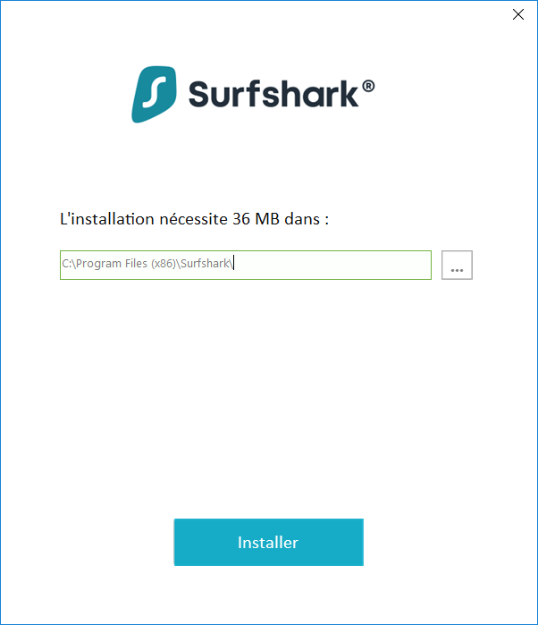 Surfshark 3 Installation