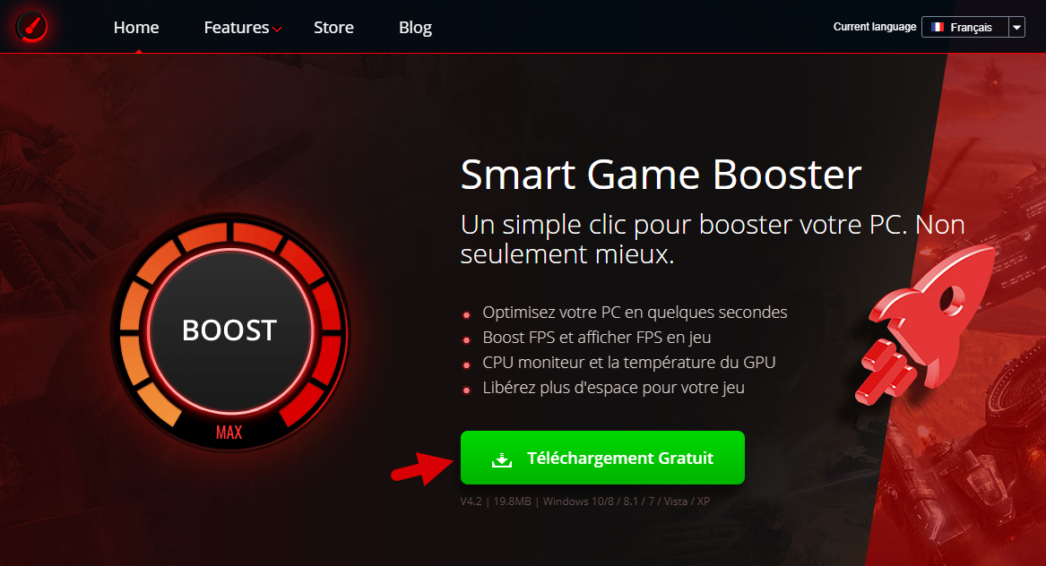 Smart Game Booster Windows 1