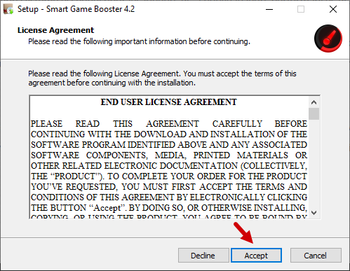 Smart Game Booster Windows 2