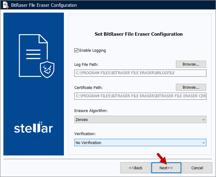 Bitraser File Eraser Tutoriel 8